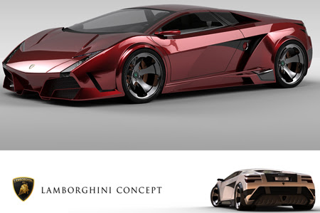 lamborghini concept car3 Super Cars of the Future: Inspiring Future thinking in Car Design