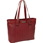 """Kenneth Cole Reaction """"A Majority Tote"""" 16"""" Computer Tote, Red by Luggage Pros"""