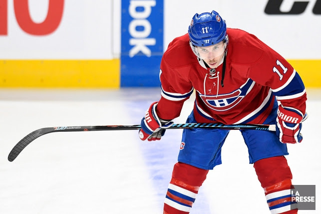 Brendan Gallagher... (PHOTO BERNARD BRAULT, ARCHIVES LA PRESSE)