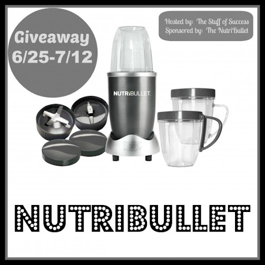 Stay healthy this summer with the Nutribullet Giveaway
