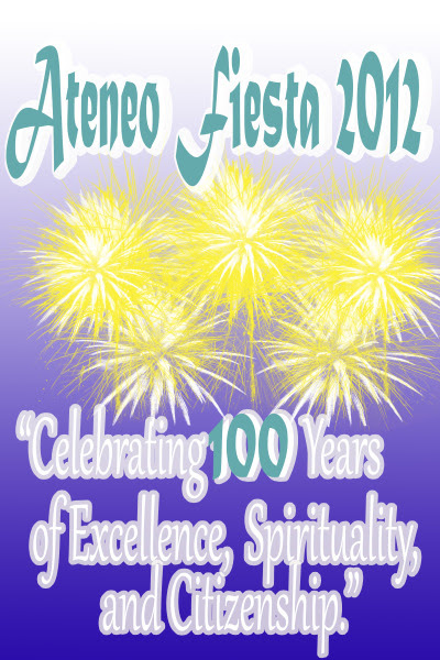 ateneo fiesta poster design centennial 100 years adzu zamboanga
