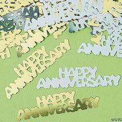 anniversary confetti