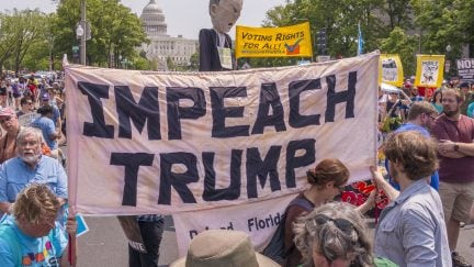 Congressman Formally Introduces Articles of Impeachment for Trump, but Don't Get Your Hopes Up