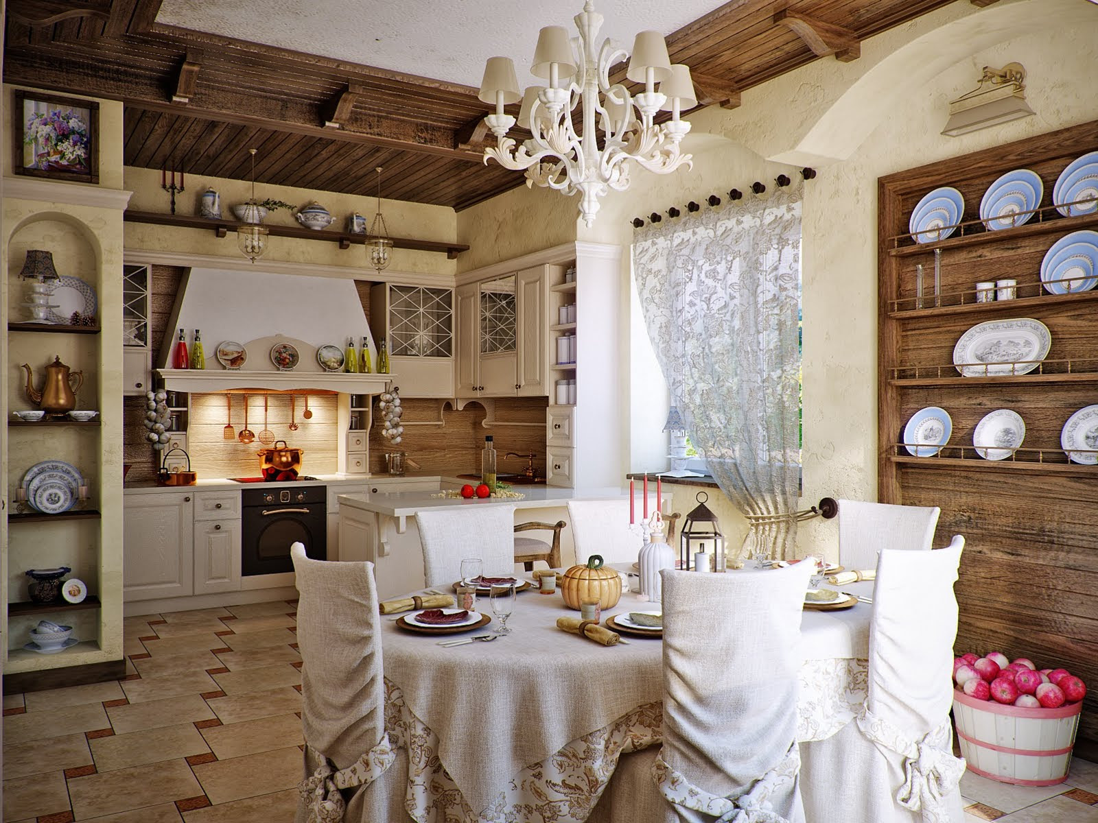 Attractive Country Kitchen Designs – Ideas That Inspire You ...