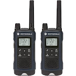 Motorola - Talkabout 35-Mile, 22-Channel FRS/GMRS 2-Way Radio (Pair) - Dark blue
