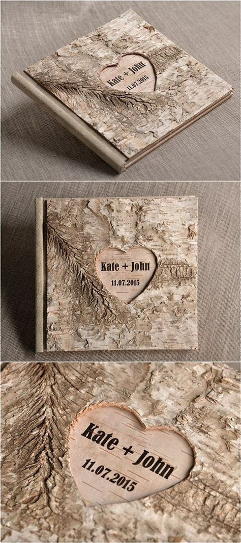 Rustic guest book design for wedding 25   Creative Maxx Ideas