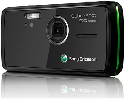 Sony Ericsson K850i - Back and Camera
