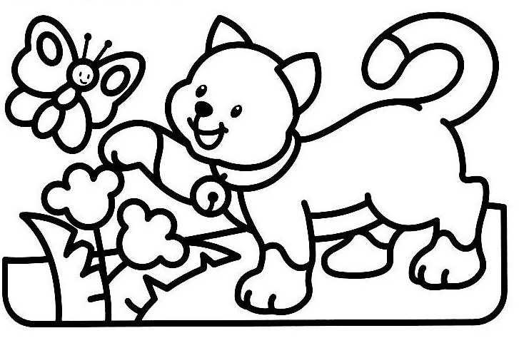 260 Dibujos De Gatos Para Colorear Oh Kids Page 13