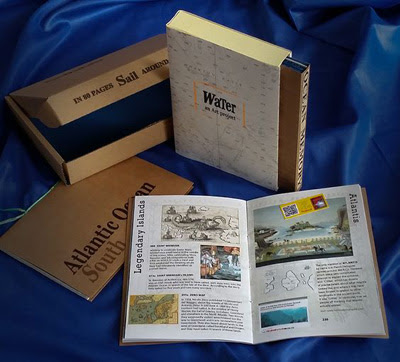 a memory game with 24 cards from the history of the Atlantic Ocean and 2 travel journals of our adventures while sailing