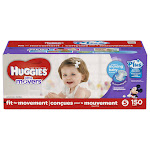 Huggies Little Movers Plus Diapers, Size 5 - 150 count