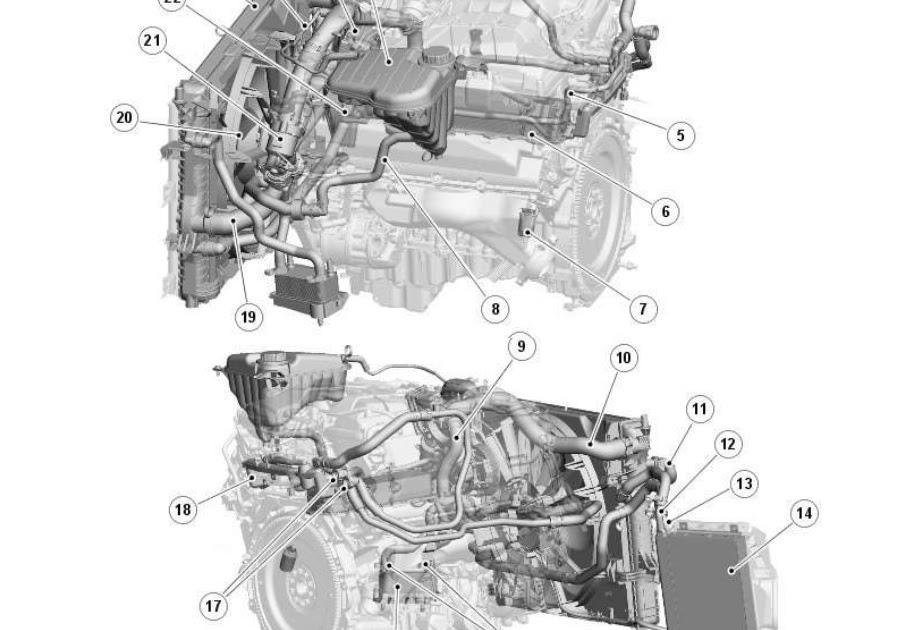 Jaguar Xf Cooling System Diagram
