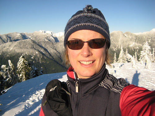 Atop Dog Mountain at Mt. Seymour