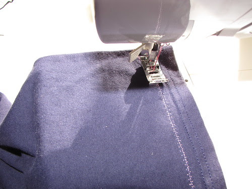 Sewing Up Shopping Bags