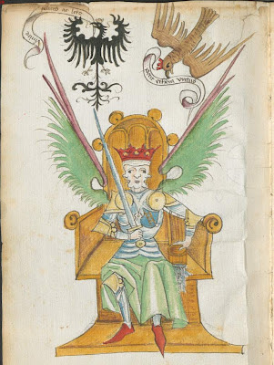 Albrecht von Eyb - The book of Marriage - alchemical illustration