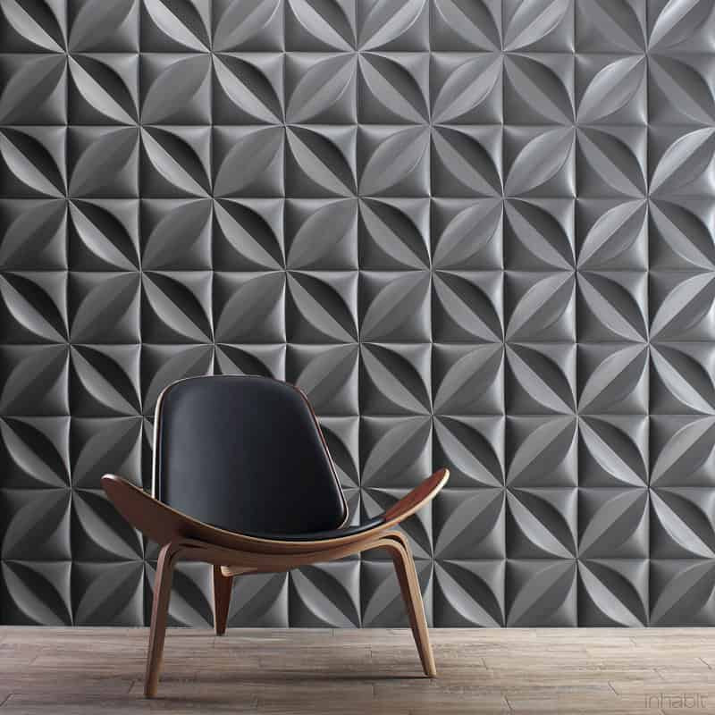 25 Spectacular 3D Wall Tile Designs To Boost Depth and Texture homesthetics ideas (15)