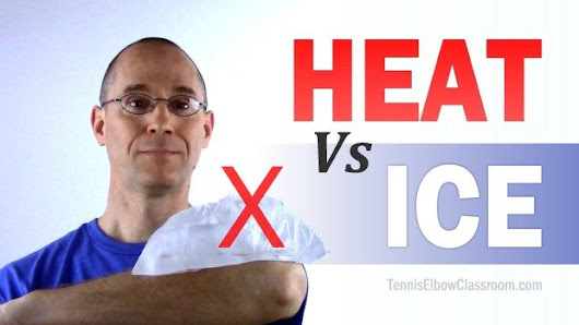 Don't Use Ice to Treat Your Tennis Elbow!