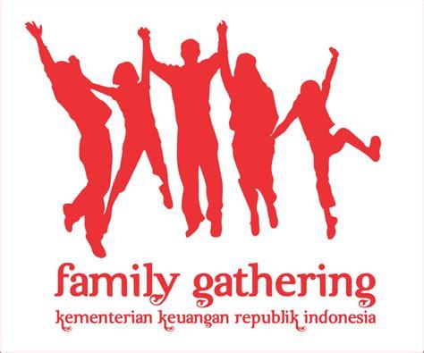 contoh logo family gathering kreatif  berbagai acara