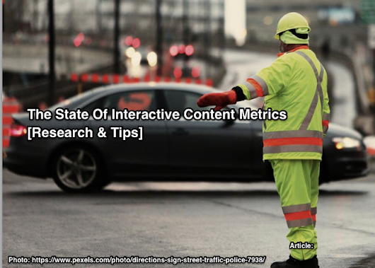 The State Of Interactive Content Metrics [Research and Tips] - Heidi Cohen