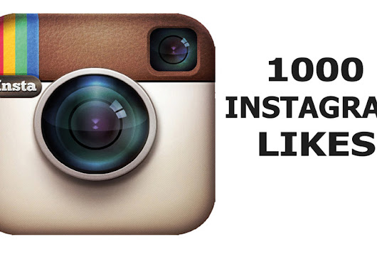 I will send 1000 Instagram Likes to your photo or video for $5