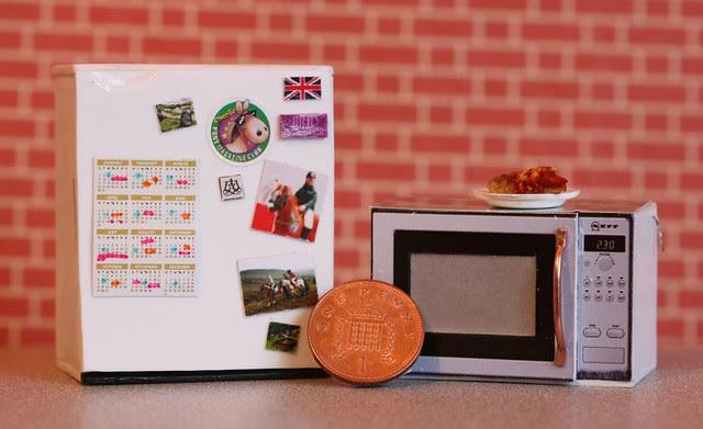 1/12th scale 'working' kitchen appliances