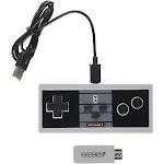 Retro Bit RB-NES-7154 NES Classic Wireless Pro Controller