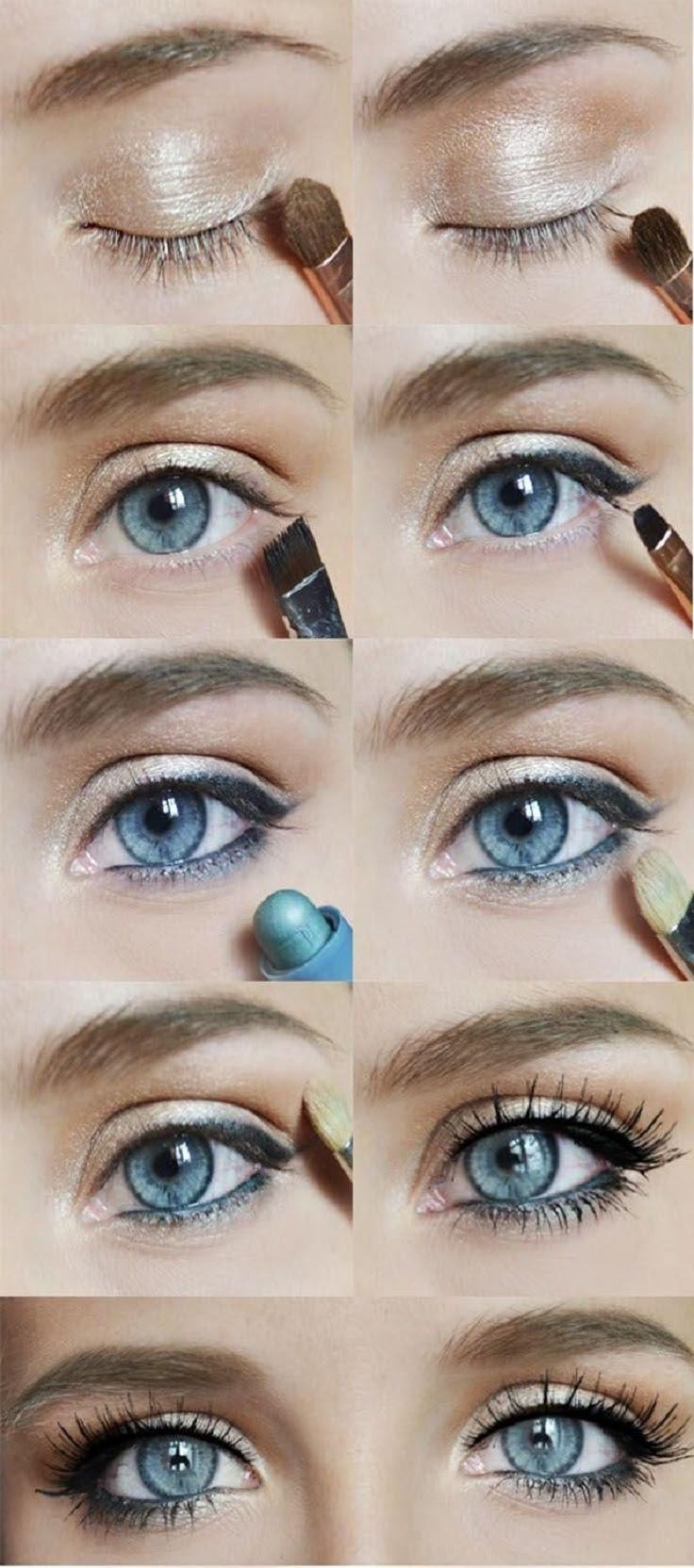 3 Best Eyeshadow Colors For Grey Eyes - Makeup Tutorials
