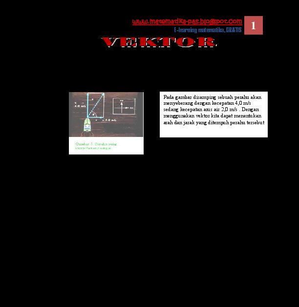 Makalah Vektor Matematika Pdf - Contoh Makalah