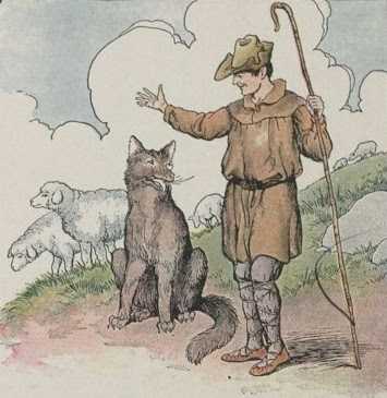 THE WOLF AND THE SHEPHERD