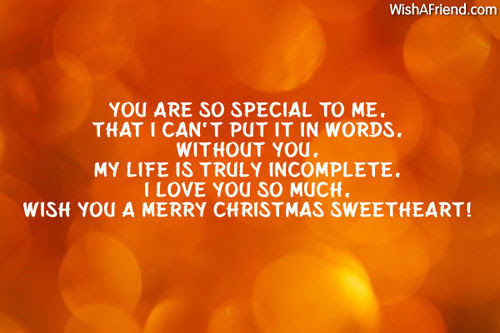 Merry Christmas Sweetheart Quote Pictures Photos And Images For