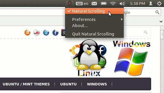 Natural Scroll Ubuntu