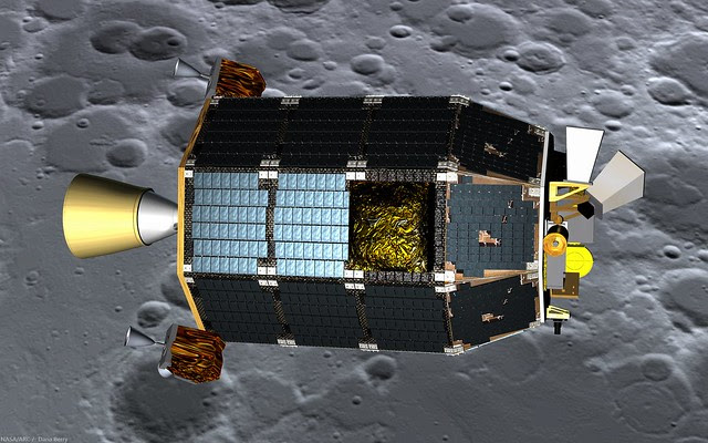 LADEE in lunar orbit