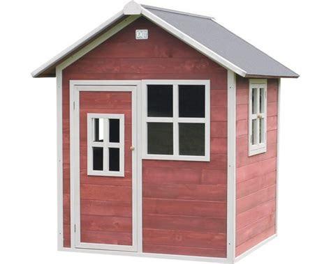 spielhaus exit loft  holz rot kaufen bei hornbachch