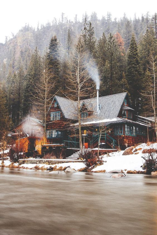 Snowy Cabins to Covet
