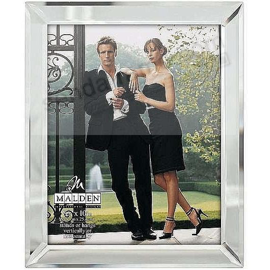 Mirror Glass 8x10 Frame For Contemporary Styling By Malden