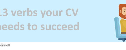 13 verbs your CV needs to succeed