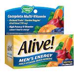 Alive! Complete Multi-Vitamin, Men's Energy, Tablets - 50 tablets
