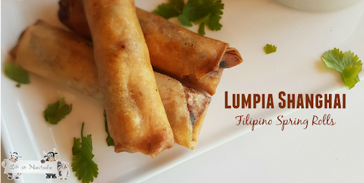 Lumpiang Shanghai ~ Filipino Spring Roll Recipe - Life on Manitoulin