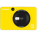 Canon - IVY Cliq Instant Film Camera - Bumblebee Yellow