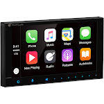 "Planet Audio Pcp9800a 6.75"" Double-DIN In-Dash Digital Media AM-FM Receiver with Bluetooth , Apple CarPlay & Android Auto"