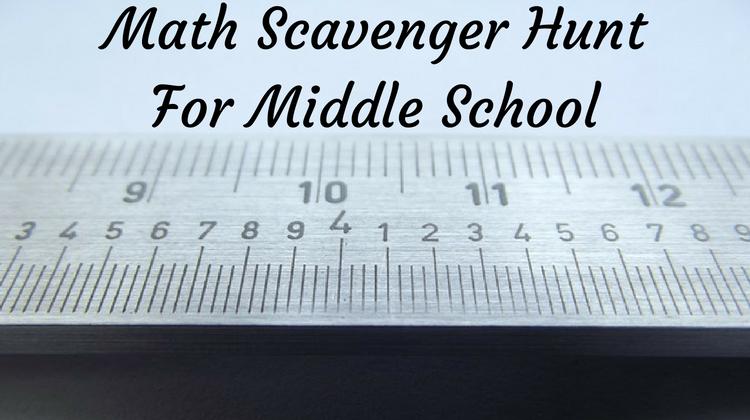 Math Scavenger Hunt Scavenger Hunt