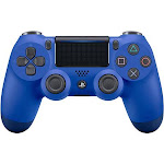 PlayStation Dualshock 4 Wireless Controller for Sony PS4, Wave Blue 711719504382