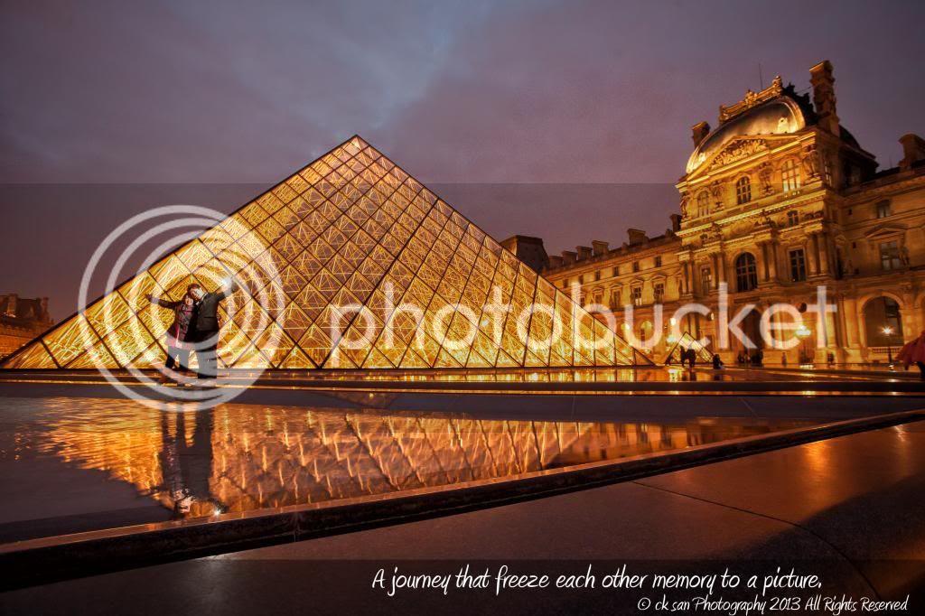 卡卡 ♥ 巴黎羅浮宮