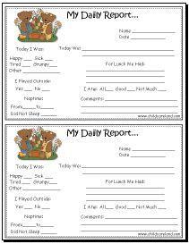 1000+ images about Daily Notes on Pinterest | Day care, Infants ...