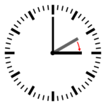 Diagram of a clock showing a transition from 02:00 to 03:00
