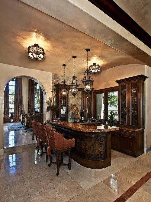 Family Room Bar Home Design Ideas