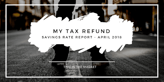 Savings Rate Report - April 2018 - My Tax Refund - TITM
