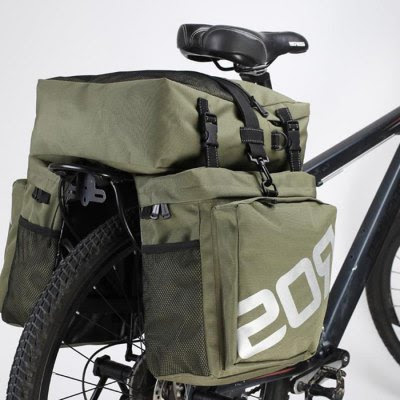 Roswheel 37L Water Resistant 3 in 1 Bicycle Rear Pannier Bag-36.65 Online Shopping| GearBest.com