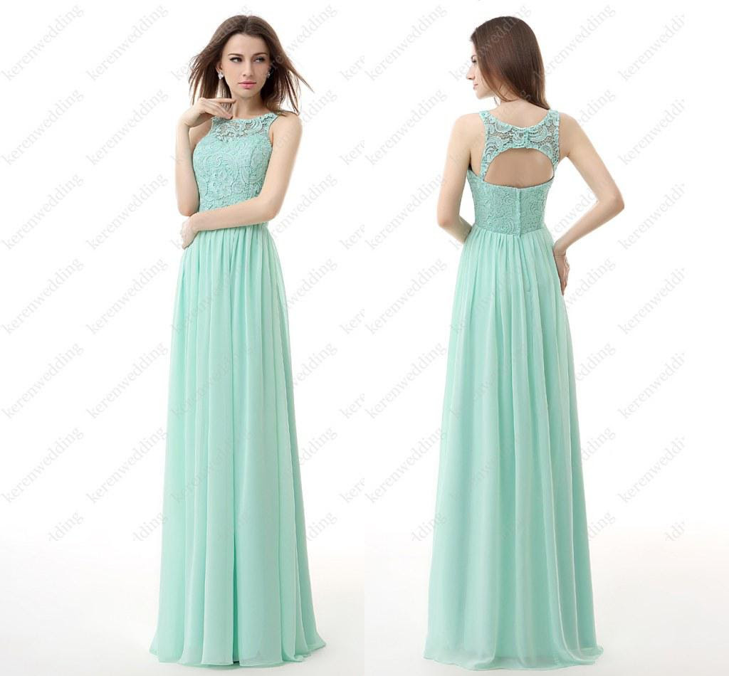 New wedding dresses for young: Bridesmaid dresses long lace
