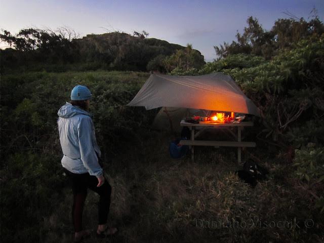 Camp at dusk_c