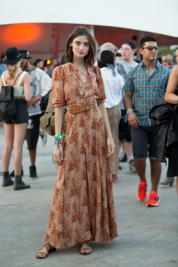 easy breezy maxi dress  34 amazing coachella looks you can…